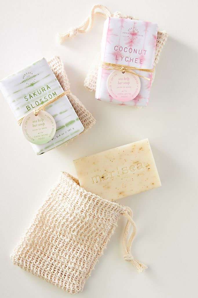 Mer-Sea & Co. Scrub Bar Soap Set $16.00