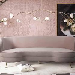 Flare Velvet Sofa $1,1410.99