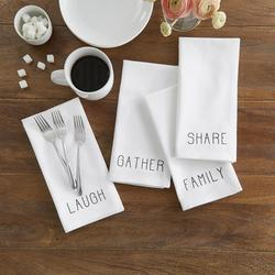 Farmhouse Living Sentiments Napkins, Set of 4 $14.99