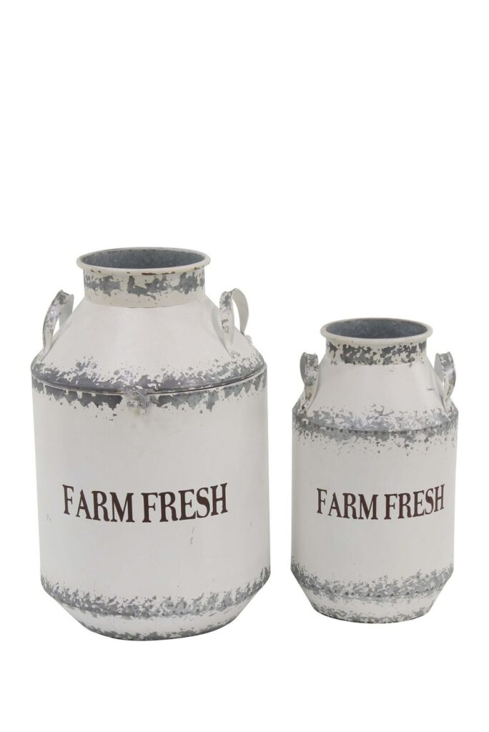 Milk Can 2-Piece Set $79.97