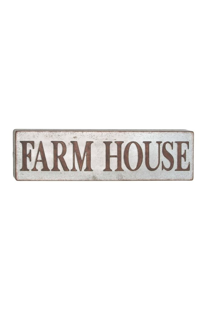 Metal Wall Sign $54.97