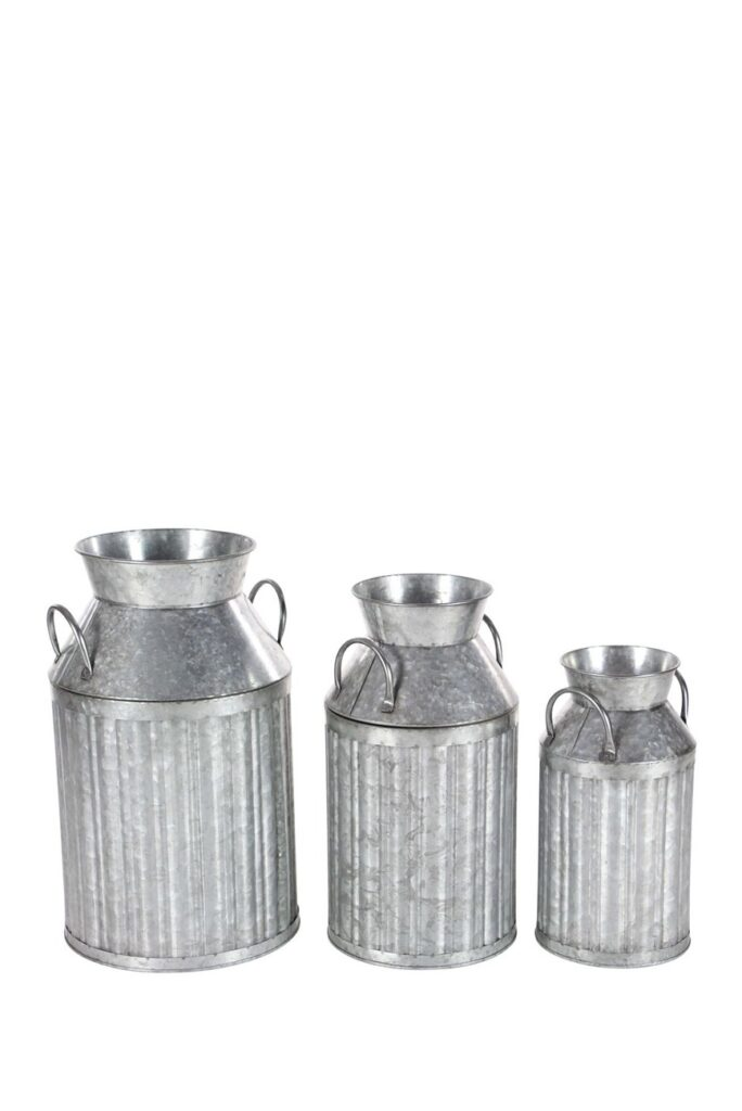 Metal Milk Jug - Set of 3 $86.97