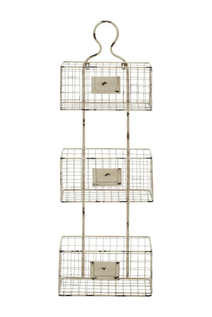 Metal Basket Shelf $53.97