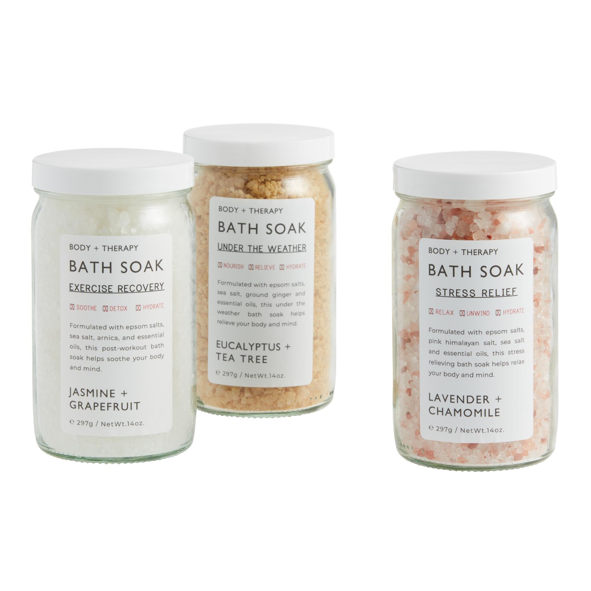 Body Therapy Bath Soak Collection $9.99