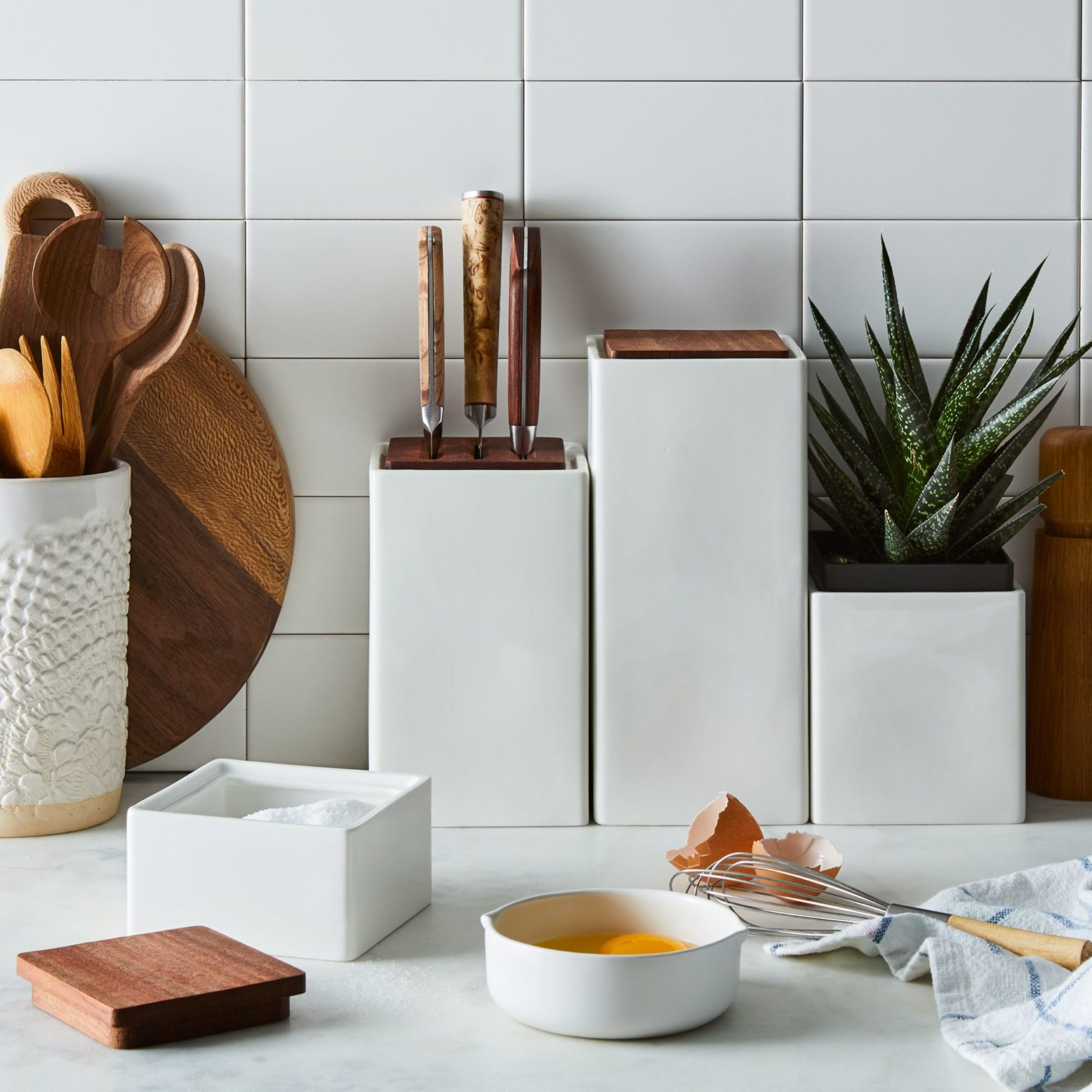 Modular Ceramic Countertop Set$99
