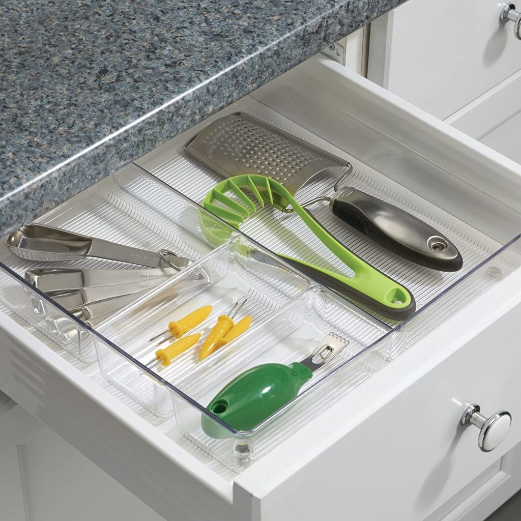 iDesign Linus Kitchen Drawer Organizer for Silverware $14.68 https://amzn.to/2XmpHzf