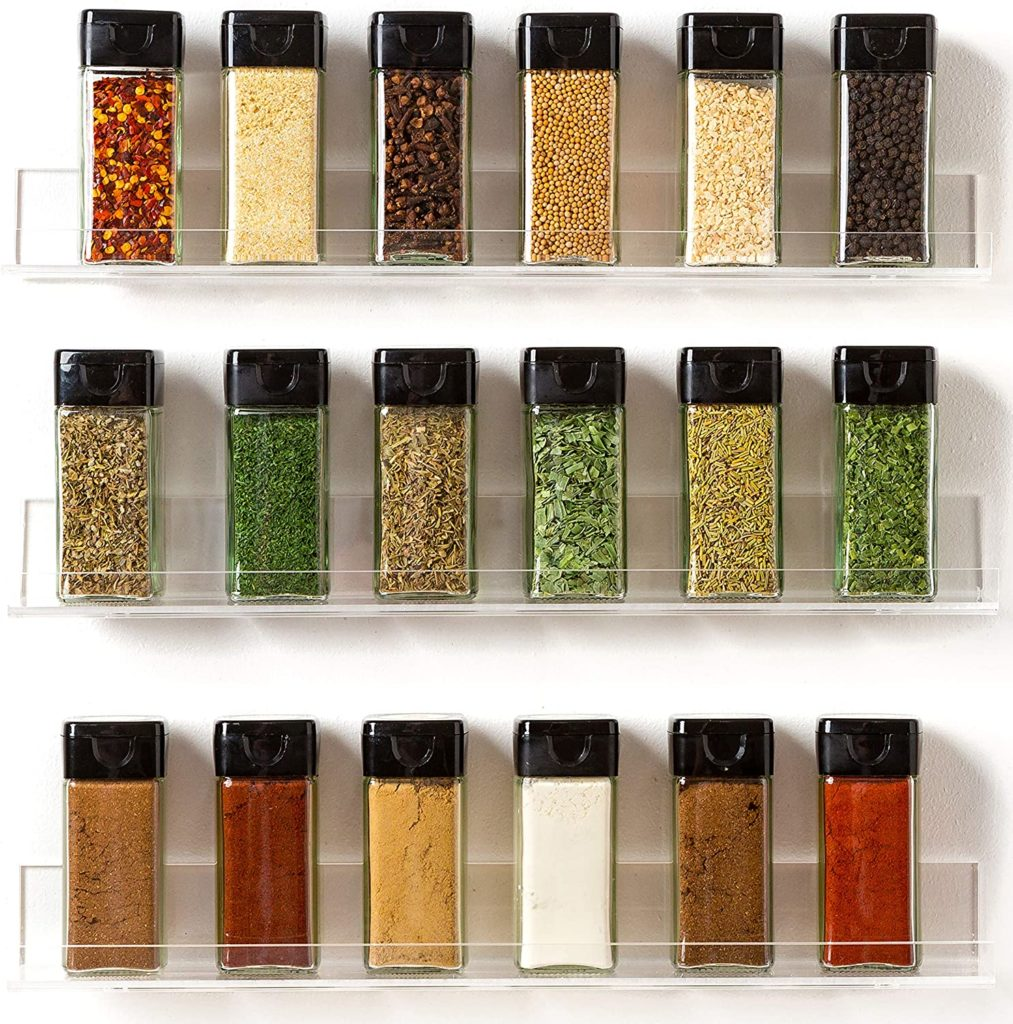 Spice Racks Organizer $24.97 https://amzn.to/33qahh8