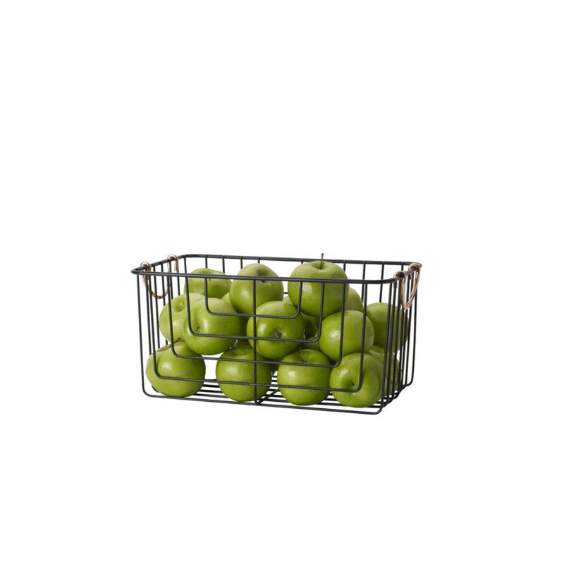 Basics Organizer Wire Basket $15.99