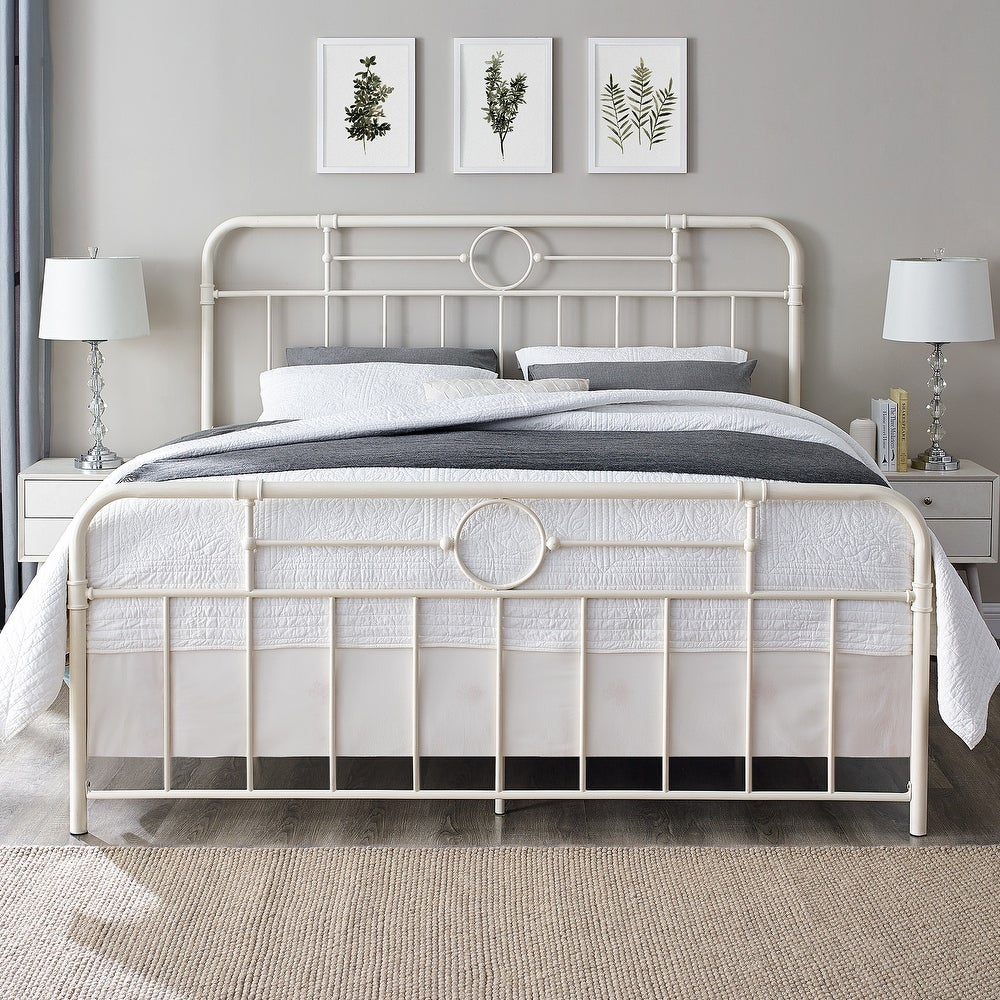 Middlebrook Designs Classic Antique Finish Metal Pipe Bed $335.24