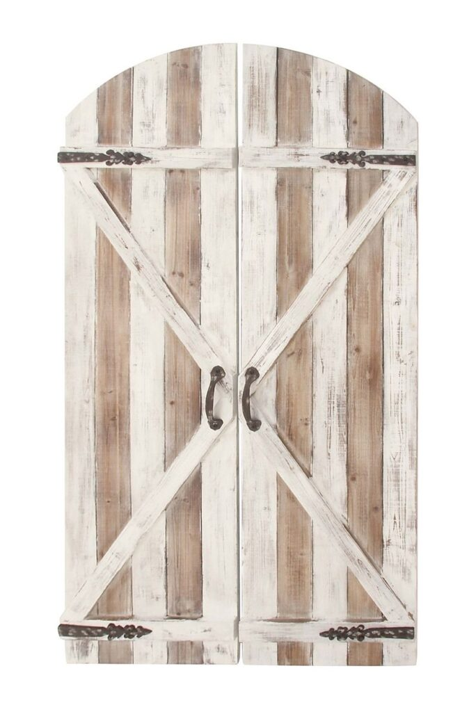 36in x 84in Sliding Barn Door with 6.6ft Barn Door $209.99