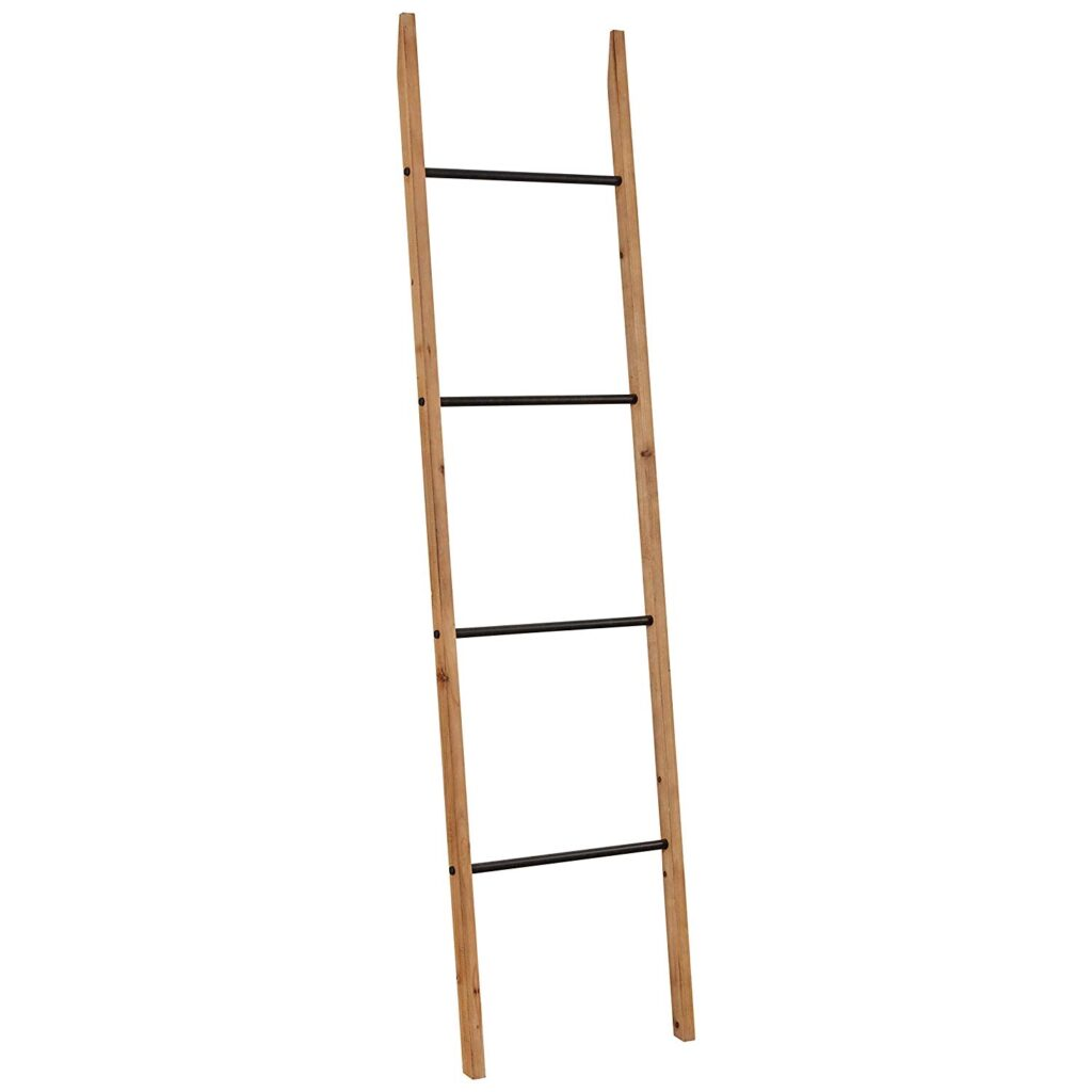 Contemporary Fir Decorative Blanket Ladder $60.32