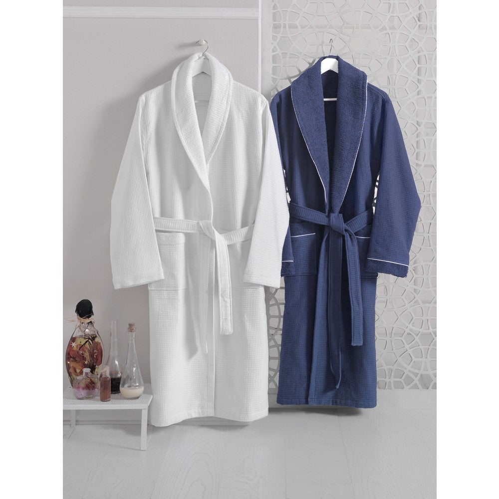 Luxurious Waffle Terry Turkish Cotton Bath Robe $53.99