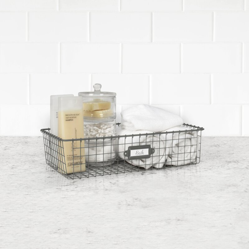 Metal Basket $23.99
