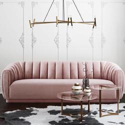 Arno Velvet Sofa $1,210.99