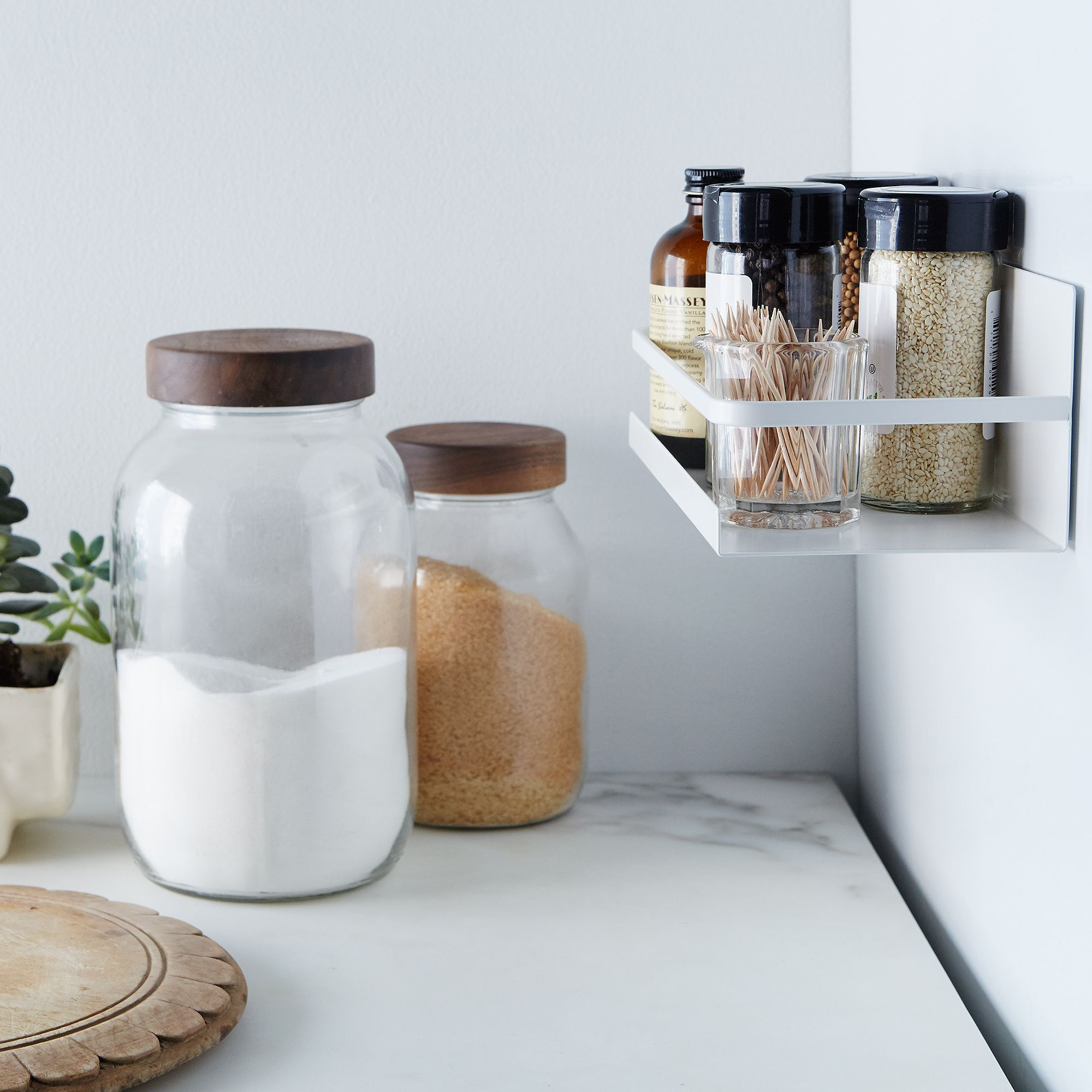 Magnetic Spice Rack $24