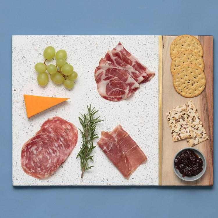 Elements Terrazzo & Acacia Serving Board $49.99
