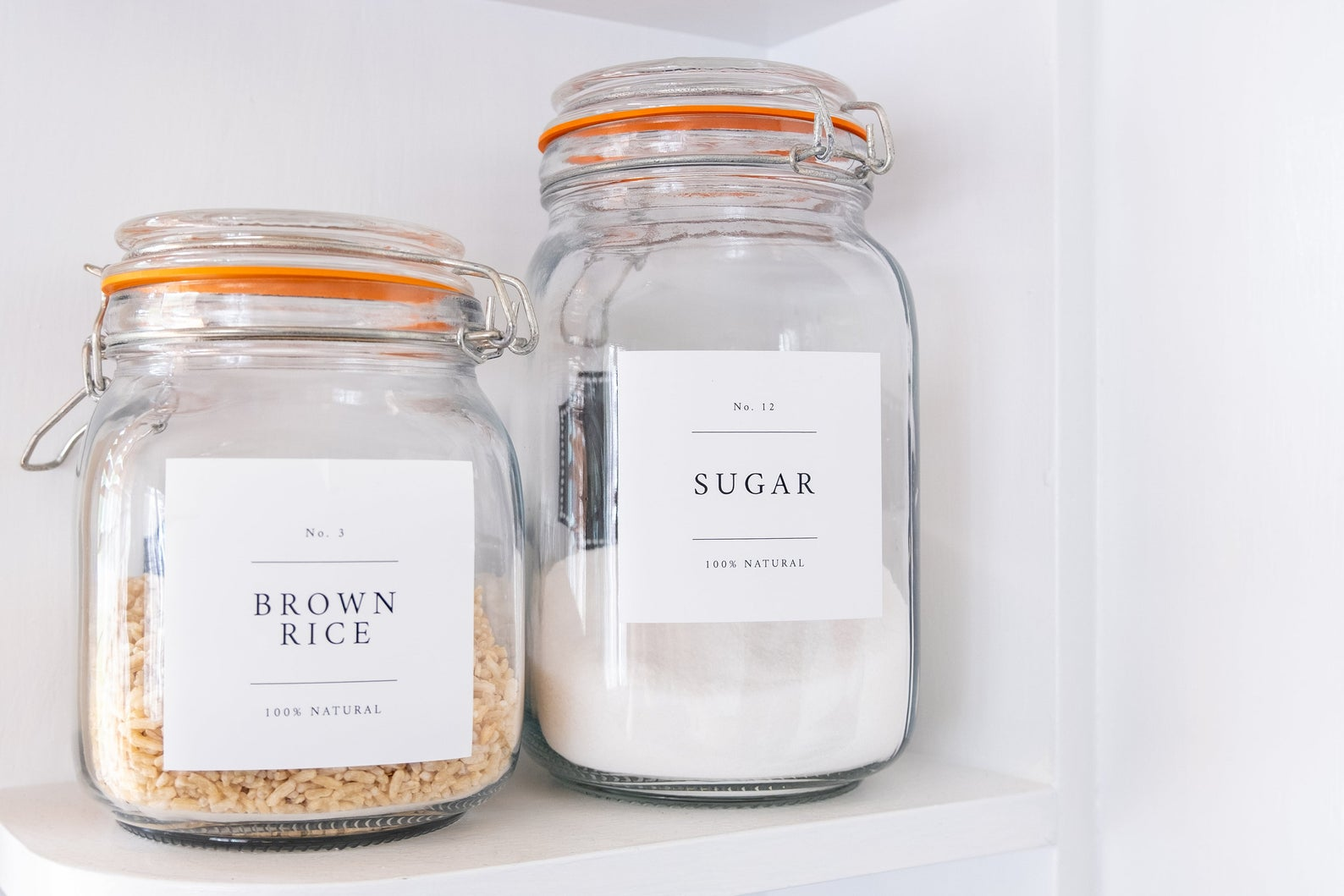 Minimalist Pantry Labels $8.00+