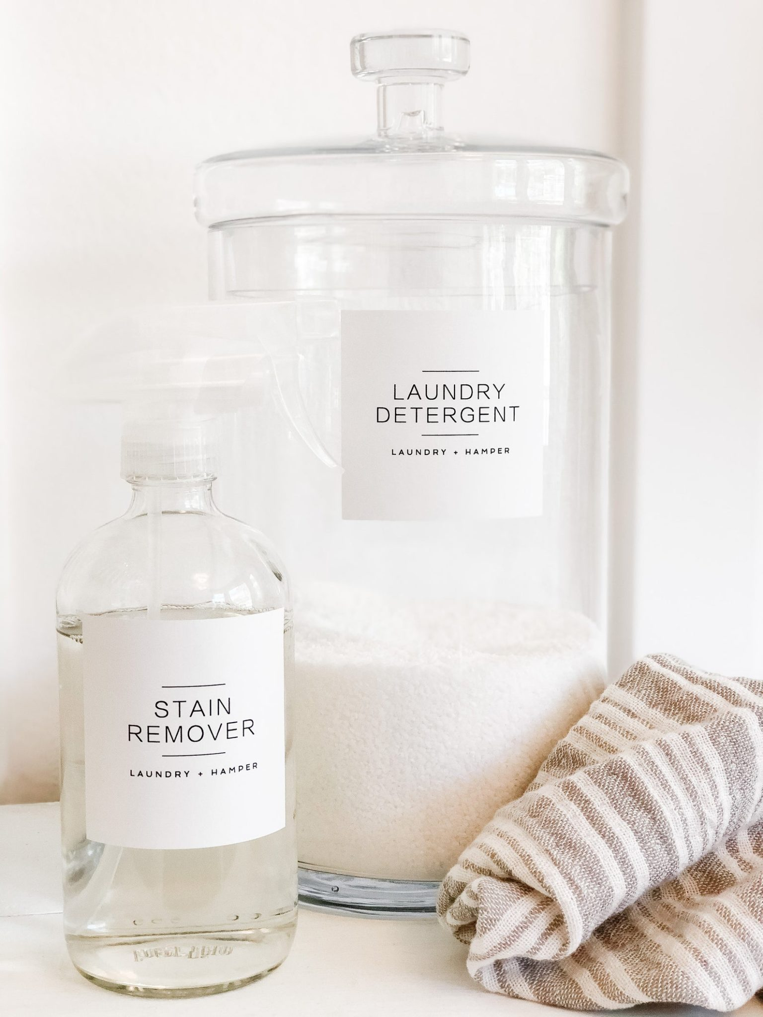 Modern Minimalist Laundry Labels $7.00+