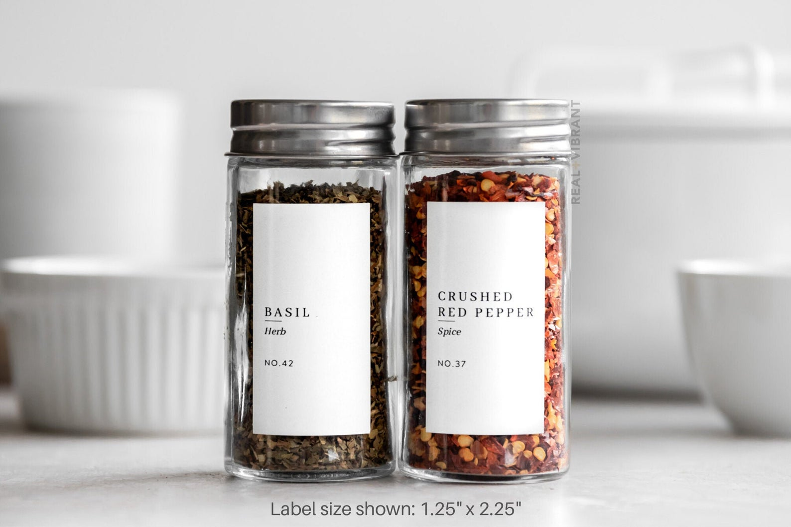 Spice Labels (Classic Style) $15.00+