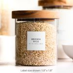 Pantry Labels (Minimal) • Water Resistant $15.00+