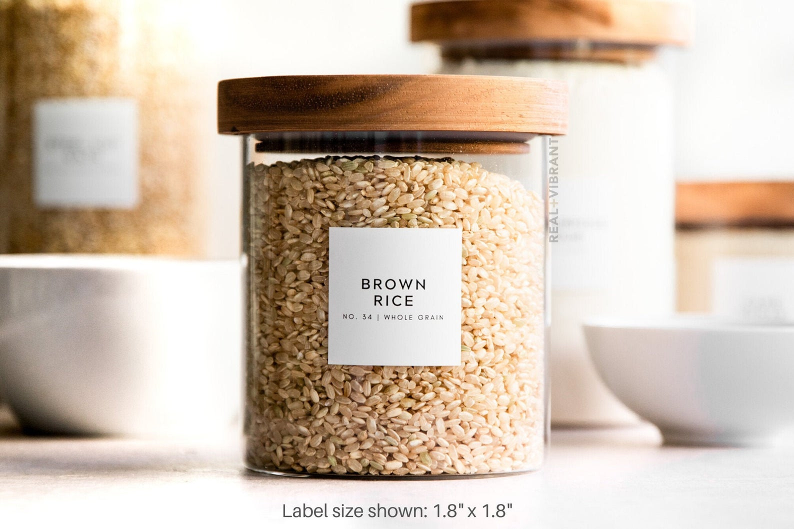 Pantry Labels (Minimal) • Water Resistant $15.00+