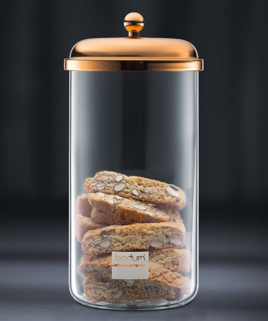 Copper-Plated 68-Oz. Storage Jar $20.99