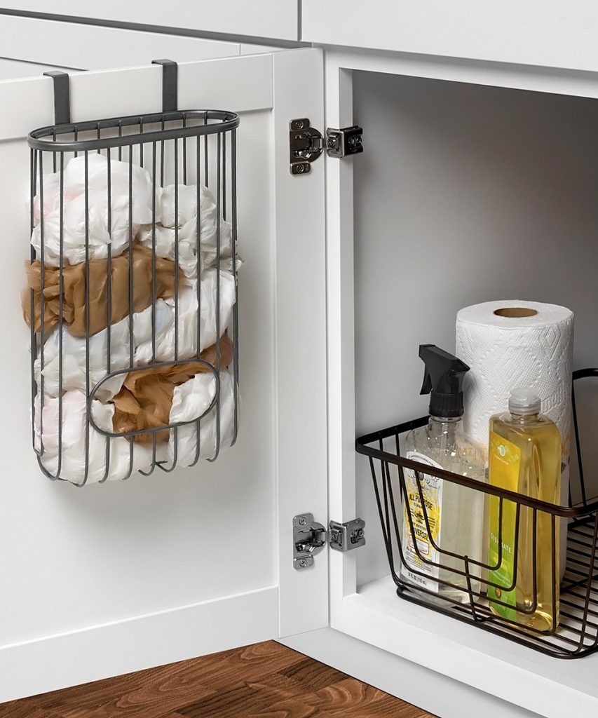 Ashley Over the Cabinet Recycling Bag Storage $11.99