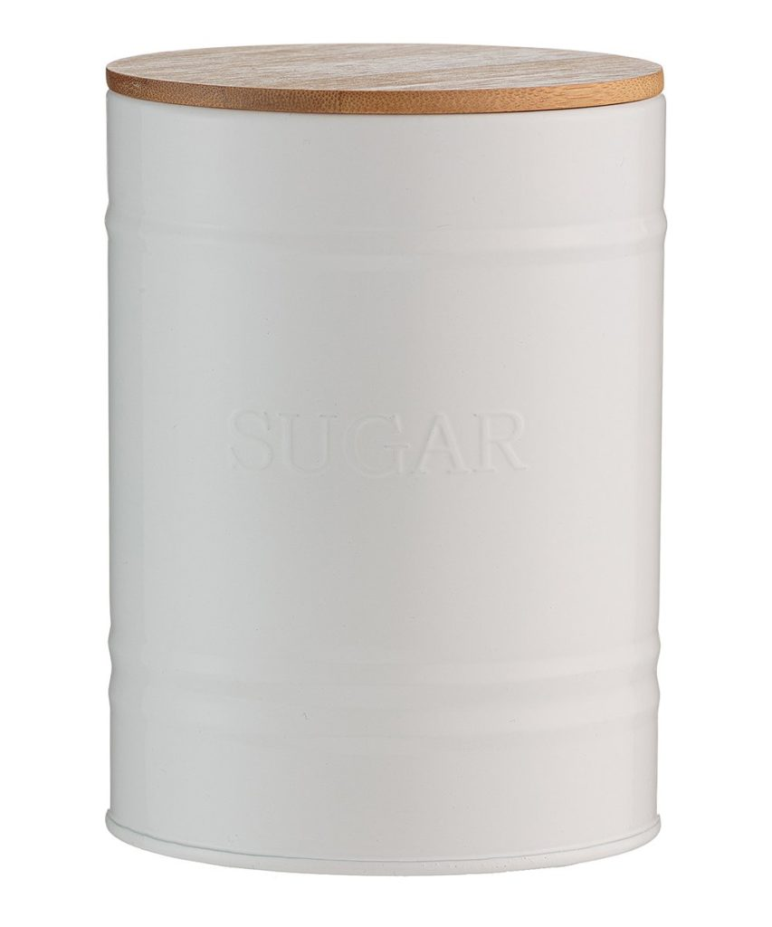 White Sugar Jar $7.99