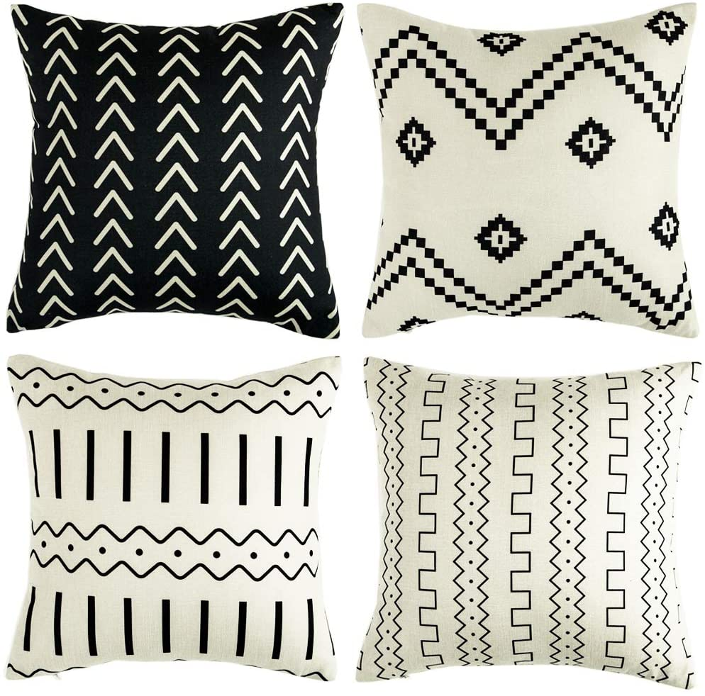 Set of 4 Pillow Covers $16.99
