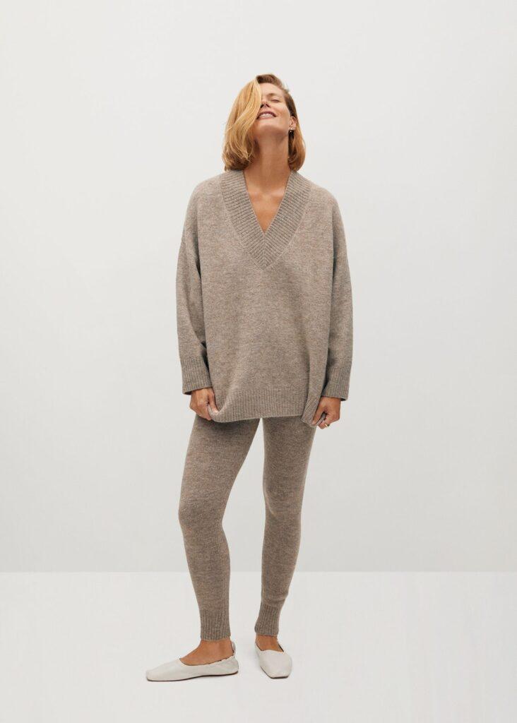 V-neck sweater $59.99
