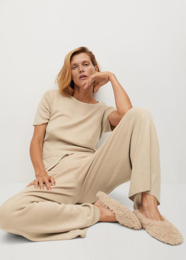 Long knit jumpsuit $99.99