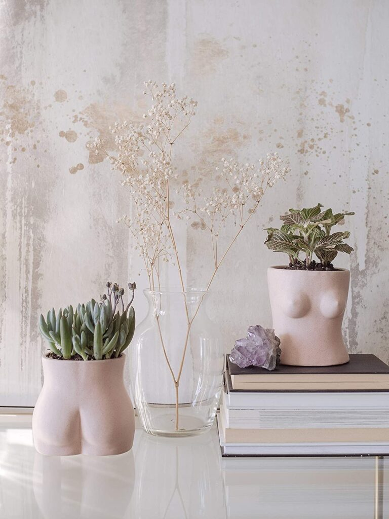 BASE ROOTS Body Flower Vase $21.99