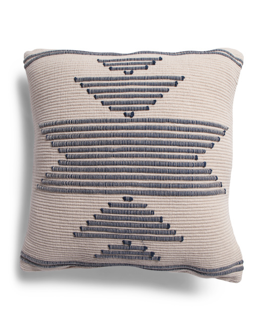 DEVI DESIGNS 20x20 Made In India Embroidered Pillow $19.99