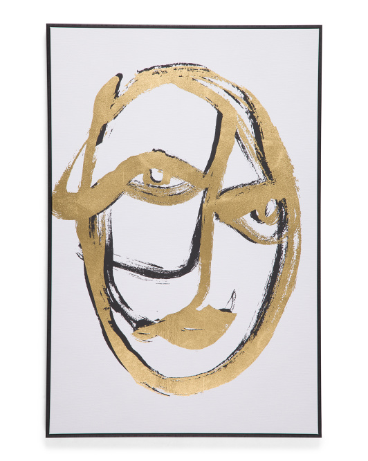 OLIVER BY OLIVER GAL 24x36 Abstract Portrait Wall Art $39.99