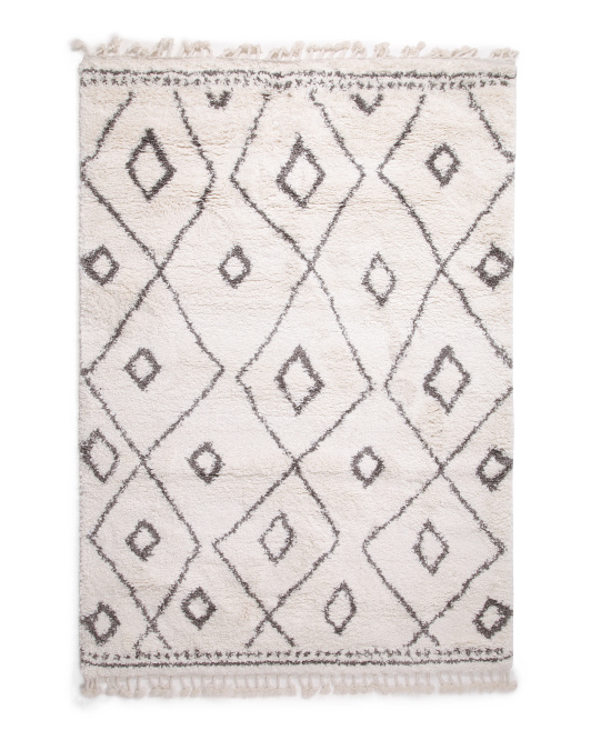 SAFAVIEH Made In Turkey 5x7 Moroccan Fringe Shag Area Rug $129.99
