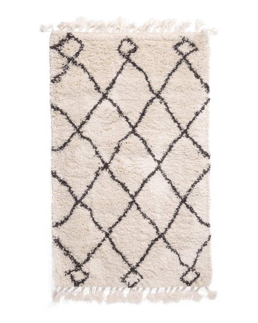 SAFAVIEH Made In Turkey 3x5 Moroccan Fringe Scatter Rug $39.99