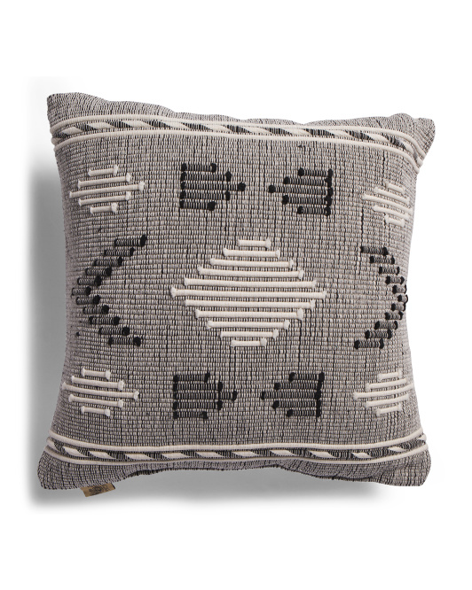 DEVI DESIGN 20x20 Embroidered Pillow $19.99