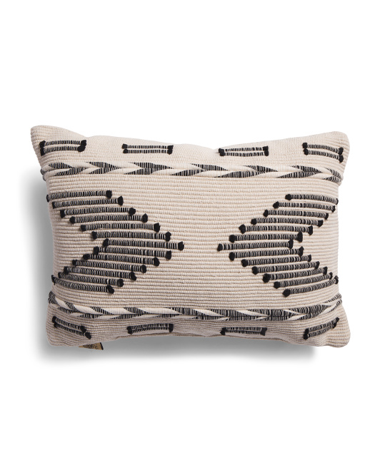 DEVI DESIGNS 14x20 Embroidered Pillow $16.99