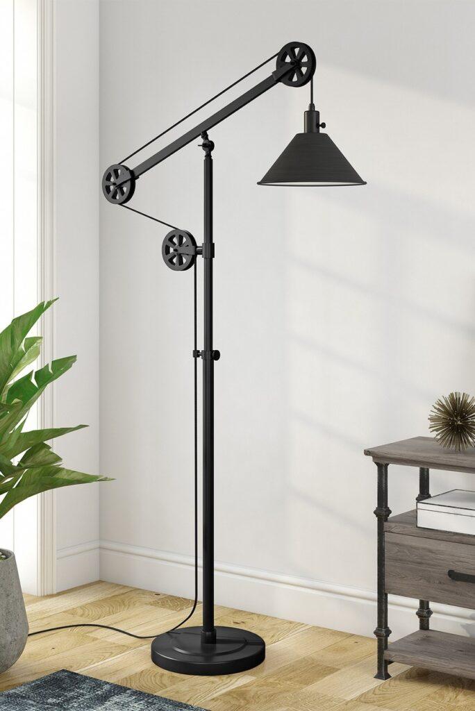 Descartes Floor Lamp - Blackened Bronze $174.97
