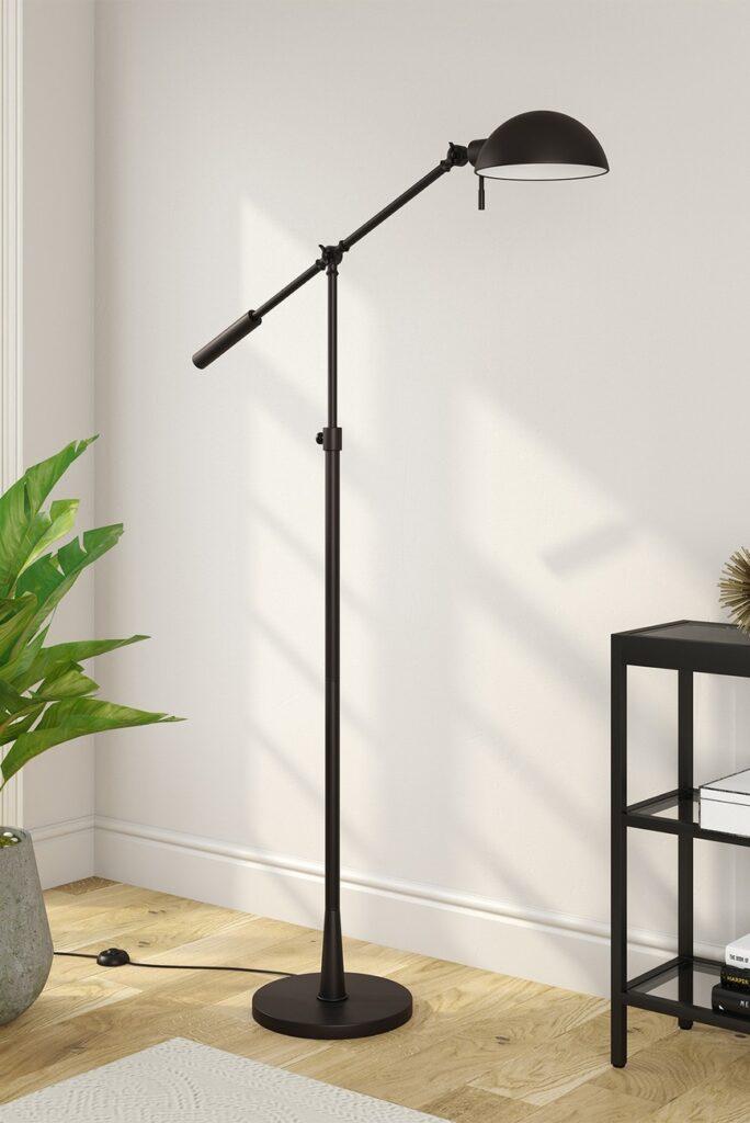 Addison and Lane Dexter Tilting Brushed Bronze Floor Lamp $104.97