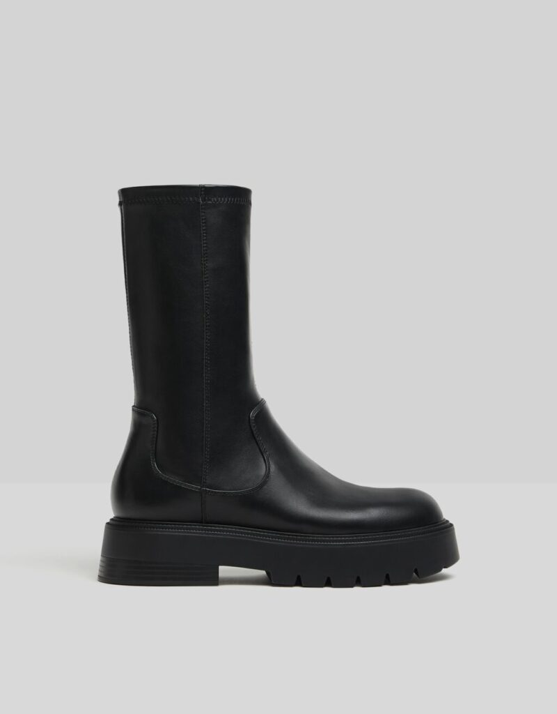 Fitted platform boots $69.99