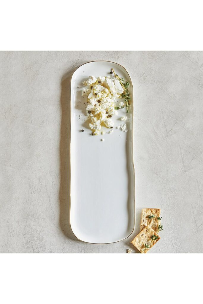 CREATIVE BRANDS Long Ceramic Platter $23.97