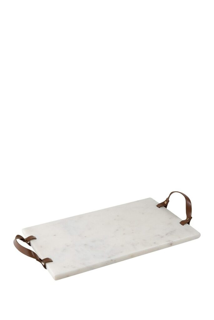 CREATIVE BRANDS Marble & Leather Serving Board $35.97