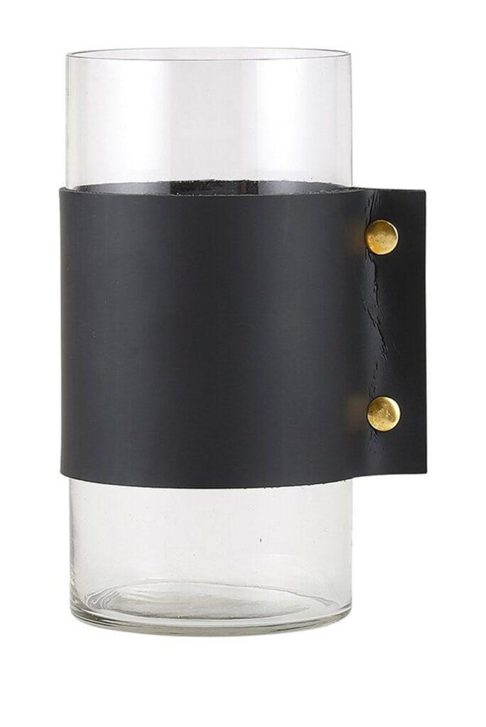CREATIVE BRANDS Hurricane Vase - Black Cuff $222.97