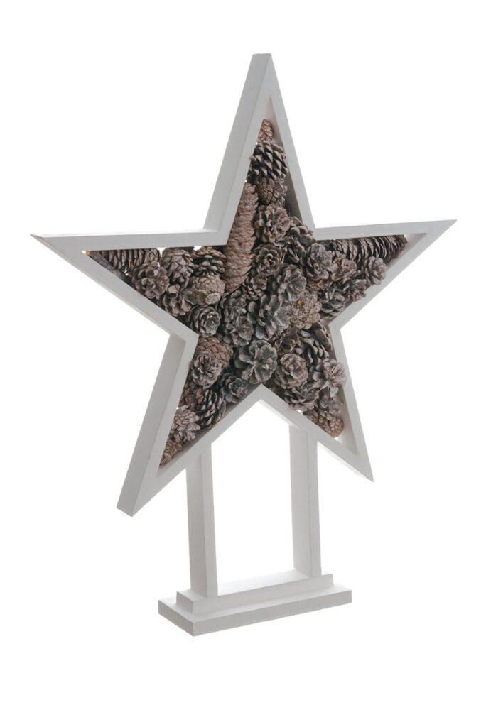 "ALLSTATE 24\"" Pine Cone Star Tree $33.97"