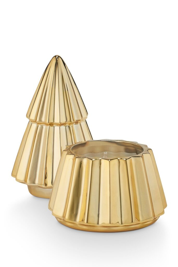 Illume Mulled Cider Gilded Tree Candle $12.97