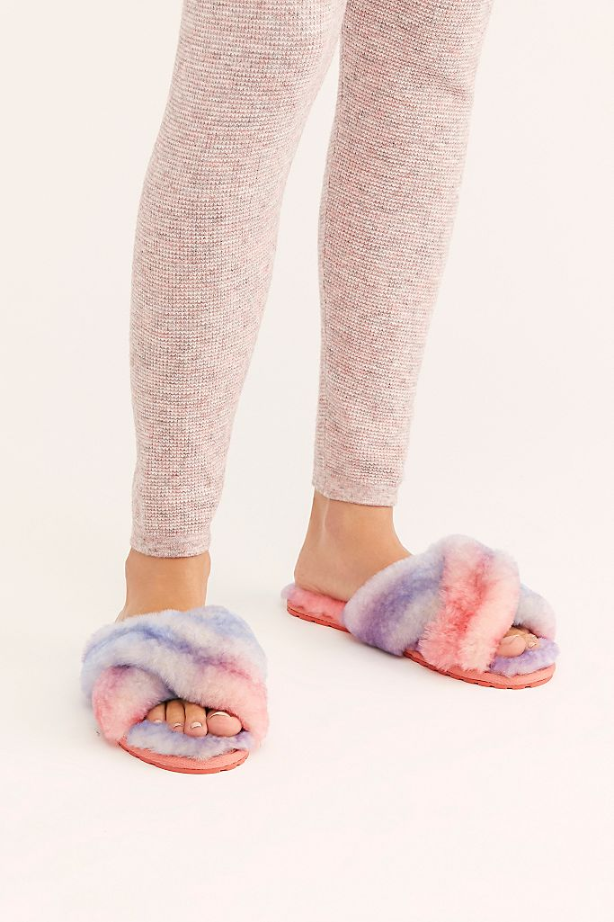 Tie-Dye Mayberry Slipper $70.00