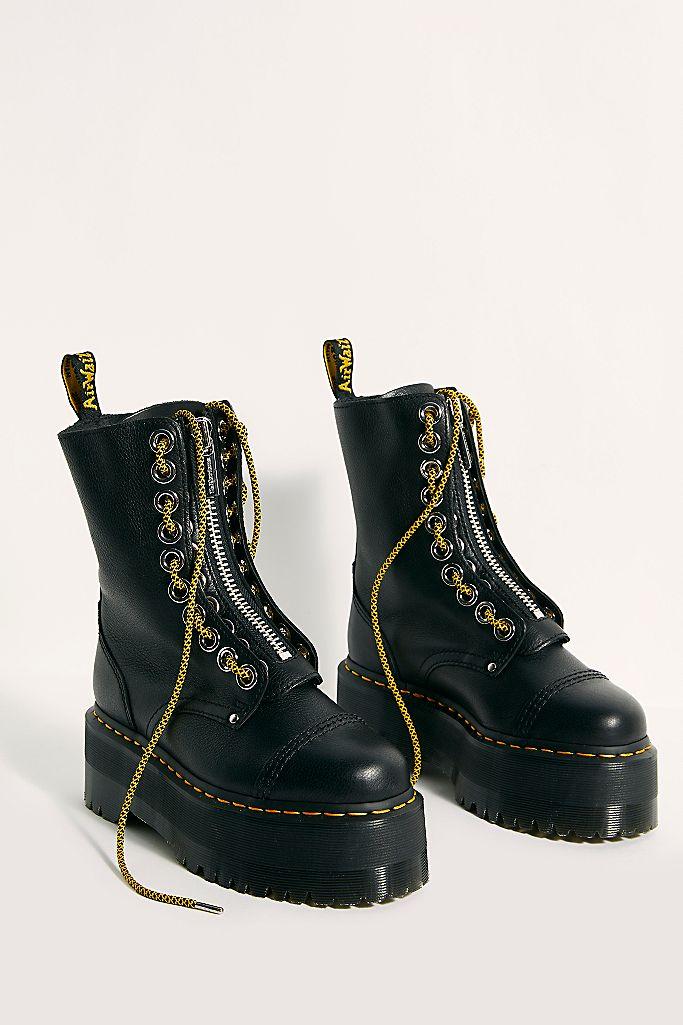 Sinclair Hi Max Zip Front Boots $220.00