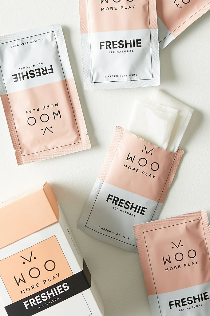 Woo More Play Freshies Wipes $13.00