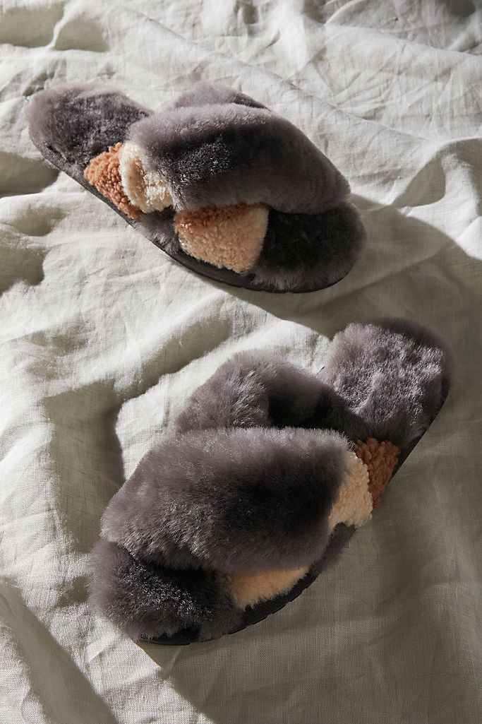 Emu Mayberry Teddy Slippers $60.00